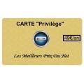 "Adhésion Carte ""Privilège"""